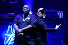 Killer Mike Celebrates Run The Jewels' New Gold Plaque