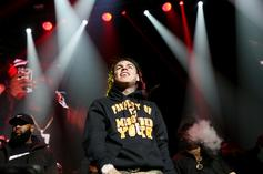"""6ix9ine Reveals Story Of How He Really Injured His Arm, Wasn't """"Caught Lacking"""""""