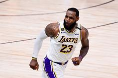 LeBron James Addresses Lakers Fans After Championship Win