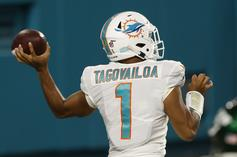 Tua Tagovailoa Makes NFL Debut During Dolphins 24-0 Win Over Jets