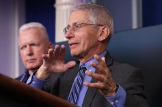 "Dr. Anthony Fauci Warns COVID-19 Vaccine Won't Be Available For Kids For ""Months"""