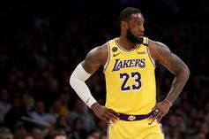 LeBron James Delivers Clutch Block To Secure Lakers Win
