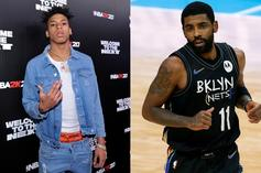NLE Choppa Jumps In To Defend Kyrie Irving In the Midst Of Retirement Talk