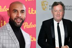 Alex Beresford Likes Tweet That Seemingly Shades Piers Morgan