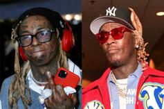 Lil Wayne & Young Thug Join Forces In The Studio
