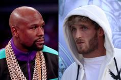 Floyd Mayweather Confirms Logan Paul Fight Date In Miami