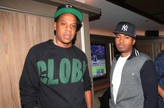 "JAY-Z Unveils Nas Playlist ""Curated By The God Hov"""