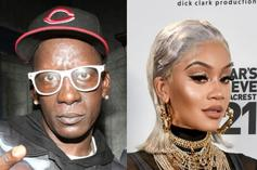"Crunchy Black Calls Saweetie A ""Typical B*tch Who Wants Something For Nothing"""