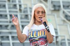 Saweetie Responds To Donation Jar Backlash From Busking Video