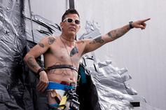 """Steve-O """"Jackass 4"""" Stunts: Being Paralyzed & Jumping Into Pool Of Urine"""