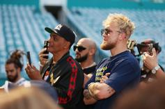 Jake Paul Kicked Out Of Floyd Mayweather's Party: Watch