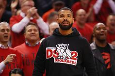 Drake Gets Father's Day Love From Sophie Brussaux