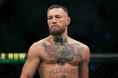 Conor McGregor Stands On Busted Leg Weeks After Gruesome Injury