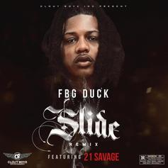 """21 Savage Joins FBG Duck For The Remix To """"Slide"""""""