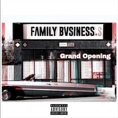 "KXNG Crooked's Family Bvsiness Drops Off ""Grand Opening"""