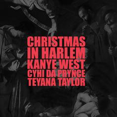 "Kanye West Channeled X-Mas Spirit On ""Christmas In Harlem"""