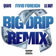 """Fivio Foreign Updates """"Big Drip"""" With Lil Baby & Quavo Remix"""