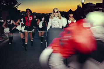 """Madonna Feat. Nicki Minaj & M.I.A. """"Give Me All Your Luvin' """" Video"""