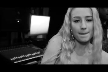 "Iggy Azalea Feat. T.I. ""Murda Bizness In Studio"" Video"