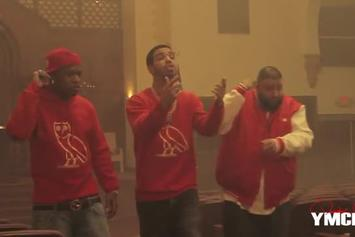 "Drake ""Behind The Scenes Of ""HYFR"""" Video"