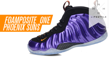Nike Foamposite Ones: Phoenix Suns Edition