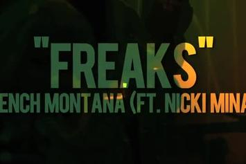 "French Montana Feat. Nicki Minaj ""More BTS Footage Of ""Freaks"" "" Video"