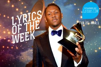 Lyrics Of The Week: Feb. 23 - Mar. 1