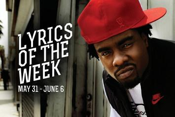 Lyrics Of The Week: May 31 - June 6