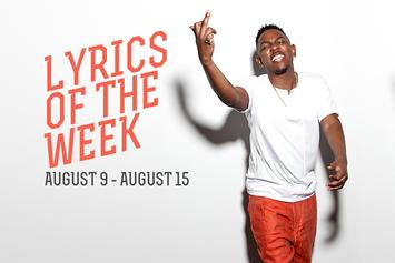 Lyrics Of The Week: August 9-15