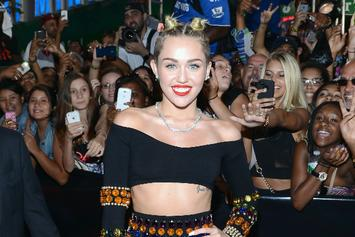 "Miley Cyrus Reportedly Recorded A ""Black Skinhead"" Remix With Kanye West [Update: Confirmed By Mike WiLL]"