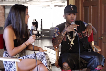 """Kid Ink """"Talks Debut Album With RCA, Fans Overseas & More"""" Video"""