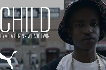 "Dyme-A-Duzin & We Are Twins Create ""Child"" In-Studio For PUMA"