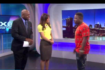 """Troy Ave Performs """"Your Style"""" On Pix11 News"""