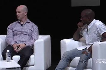 Kanye West, Steve Stoute & Ben Horowitz At Cannes Lions 2014 (Full Discussion)
