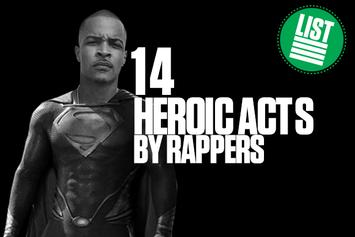 14 Heroic Acts By Rappers