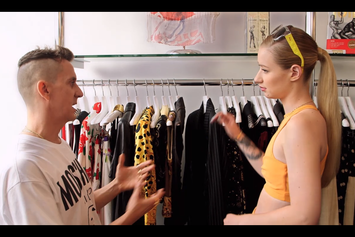 Iggy Azalea Goes Vintage Shopping With Jeremy Scott