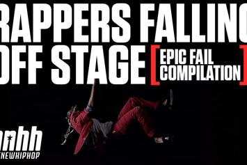 Rappers Falling Off Stage Compilation