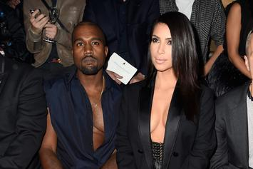 Kanye West & Kim Kardashian Reportedly Booed At Paris Fashion Week Event