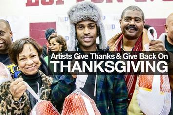 Artists Give Thanks & Give Back For Thanksgiving