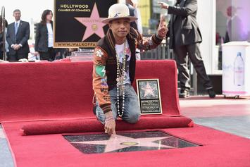 Pharrell Gets His Own Star On The Hollywood Walk Of Fame
