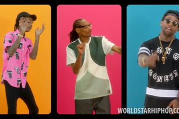 """Wiz Khalifa Feat. Snoop Dogg & Ty Dolla $ign """"You And Your Friends"""" Video"""