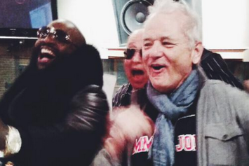 Rick Ross Kicked It With Bill Murray This Weekend