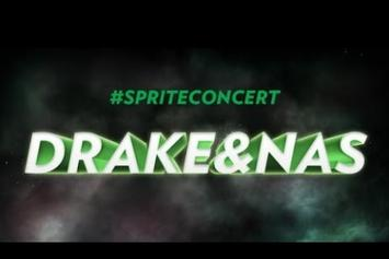 Drake & Nas Perform At Sprite Concert In NYC (Full Show)