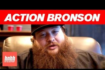"Action Bronson Talks ""Mr. Wonderful"" Art, Working With 40 & More"