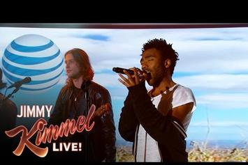 "Childish Gambino Performs ""Sober"" On Jimmy Kimmel Live"