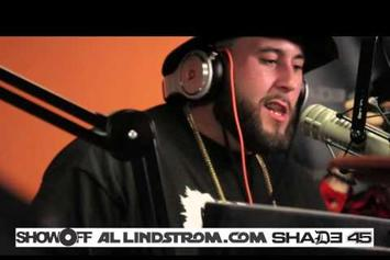 Nems Freestyles On Showoff Radio With Statik Selektah