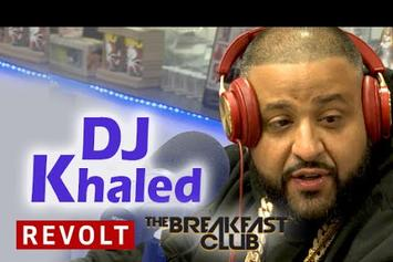 DJ Khaled On The Breakfast Club