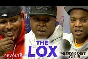The Lox On The Breakfast Club