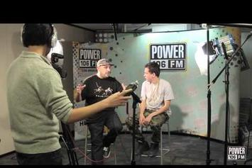 """Power 106's Vick One Tells Logic His Album Is """"Overrated"""""""