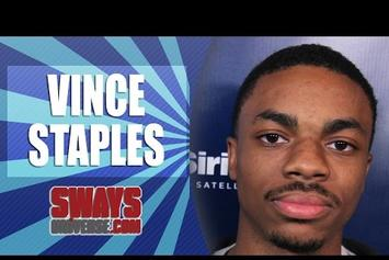 Vince Staples Freestyles On Sway In The Morning